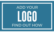 Add Your Logo Here, Find Out How!